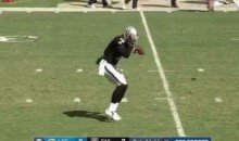 "Shawne Merriman Responds To Raiders Punter Marquette King Doing His ""Light Out"" Dance (VID + TWEET)"