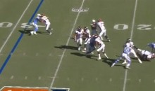 Chargers' Melvin Ingram Destroys Broncos QB Trevor Siemian, Gets Flagged (VIDEO)