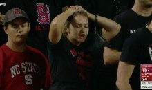"""NC State Fans Taunt Louisville Football Team With """"F-B-I"""" Chant (VIDEO)"""