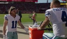 Dak Prescott & Cole Beasley Were Caught Arguing Over The Dumbest Thing Possible (VIDEO)