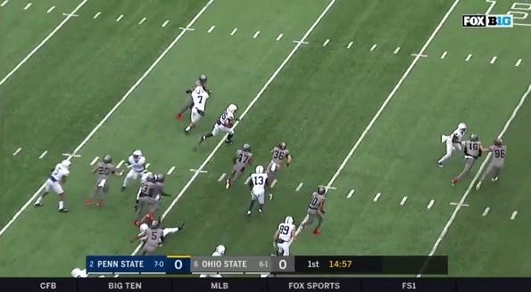 Saquon Barkley TD vs Ohio State