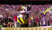 JuJu Smith-Schuster Celebrates TD with Captivating 'Dragon Ball Z' Re-Enactment (VIDEO)