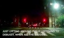 Joel Embiid Is Running Through the Streets of Philly at Night…So Don't Run Him Over (VIDEO)