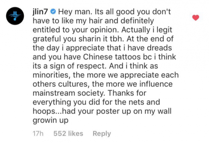 Asian NBA player accused of appropriating black culture fires back against hypocrisy