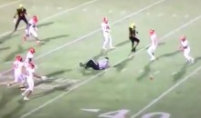 Football Ref Gets Drilled in Head By Errant Pass (VIDEO)