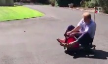Nick Saban Doing Burnouts in a Tiny Go-Kart Takes Us Into The Weekend (VIDEO)