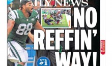 NY Media Is PISSED Over Jets' Blown TD Call That May Have Cost Them the Game (VID + PICS)