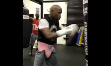 Videos Suggest Floyd Mayweather May Be Considering Another Comeback? (VIDEOS)