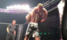 Massive MMA Throw Results in a BRUTAL Broken Arm (VIDEO)