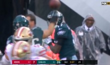The Eagles Had the Best TD Celebration This Week with an Awesome 'Hit by Pitch' Display (VIDEO)