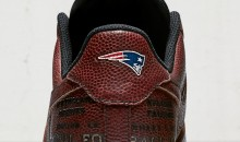 Nike Honors New England Patriots' Super Bowl With New Kicks Made of Game-Used Footballs (PICS)