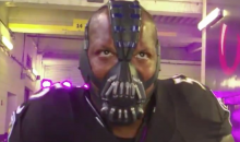 Terrell Suggs Came Out in Pregame Intros With A Bane Mask (VIDEO)