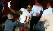 Redskins' Terrelle Pryor Had To Be Held Back From A Kansas City Chiefs Heckler: 'F*ck You' (VIDEO)