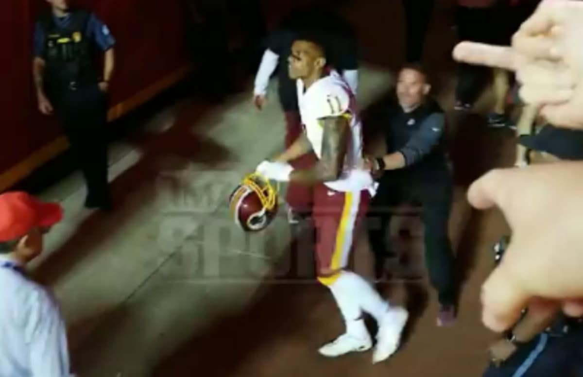 National Football League  to investigate Redskins' Terrelle Pryor's claims that he was racially taunted