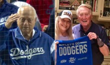 Nobody Was Happer About Dodgers NLCS Win Than Franchise Legends Tommy Lasorda And Vin Scully (Pic + GIF)