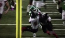 Watch As Trent Richardson Absolutely Trucks Defender In His Second CFL Game (VIDEO)