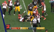 Le'Veon Bell Responds To Vontaze Burfict Kicking His Teammate In The Face (TWEET)