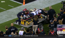 ASU Devils Fans Chanted 'Overrated' While Washington CB Got Carted Off Field With Gruesome Leg Injury (VIDEO)