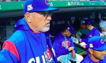 Sure Looks Like This Cubs Coach Was Caught Using An Apple Watch In The Dugout (VIDEO)