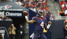 Deshaun Watson Already Has Same Number of TD Passes Brock Osweiler Had All Last Year
