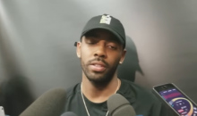 It Sure Seems Like Kyrie Irving Took A Shot At LeBron With A Message On His Hat (VIDEO)