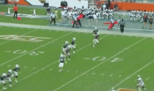 Miami Hurricanes Onside Kick Fails Miserably, Results In Georgia Tech TD (VIDEO)