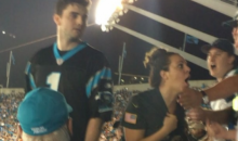 Panthers Fan Punches Elderly Man In The Face During TNF (VIDEO)