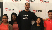 Colin Kaepernick Went To Harlem, Gave Out Backpacks & Talked To Kids About Activism
