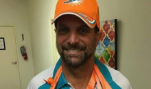 Guy Trolls Former Dolphins O-LINE Coach With Best Halloween Costume Ever (PIC)