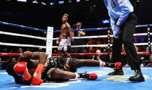 Jermell Charlo Delivers Devastating 1st Round KO, Then Someone Throws A Chair At His Brother (VIDEO)