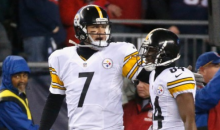 Steelers' Ben Roethlisberger Calls Out Antonio Brown For His Sideline Temper Tantrum