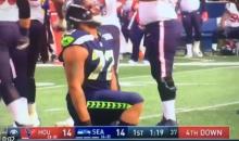 Seahawks' Michael Bennett Kneels After Sacking Deshaun Watson (VIDEO)