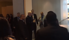 Protesters Confront Cowboys Owner Jerry Jones At Owners Meeting In New York City (VIDEO)