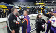 Chase Elliott Superfan Wanted To Fight Denny Hamlin (VIDEO)