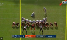 Browns Iced Titans Kicker in OT; He Misses, Then Hits Second Attempt (VIDEO)