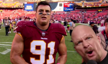 Watch Redskins' Ryan Kerrigan Channel His Inner 'Stone Cold' By Quoting Him After Game (VIDEO)