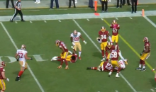 Pierre Garcon Trucked Redskins Defender So Hard, He Started Running In Place & Violently Shaking (VIDEO)