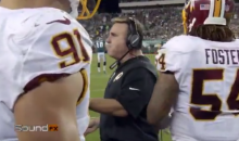 "Jim Tomsula To The Washington Redskins Defense: ""Everybody Play Butt-Ass Naked!"" (VIDEO)"