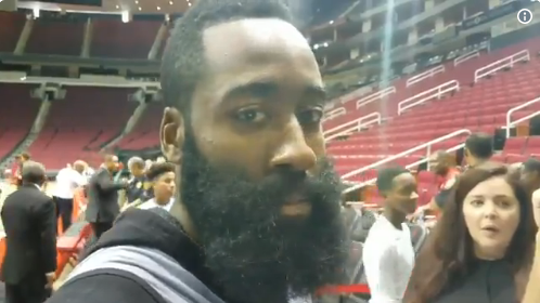 188eaf52952 James Harden is not one to be disrespected without returning fire.