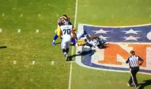 CBS Announcer Spero Dedes Had a Very NSFW Call During Rams-Seahawks Game (VIDEO)