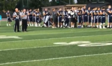 California Coach Quits Job After His Players Kneel During Anthem (VIDEO)