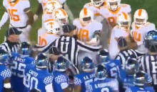 Entire Tennessee & Kentucky Teams Hit With Unsportsmanlike Conduct Penalties (VIDEO)