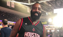 Social Media Goes Crazy Over A James Harden Look-A-Like In The Crowd (TWEETS)