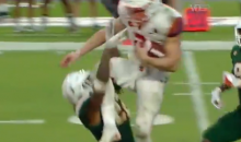 Syracuse QB Hits Miami Hurricane Defender With A WWE-Style Dropkick During Run For First Down (VIDEO)