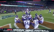 Minnesota Vikings Play Duck, Duck, Goose With Entire Offense After Scoring Touchdown (VIDEO)