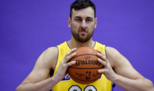 Lakers' Andrew Bogut Says People Need To Focus on Bigger Issues Than 'Stupid Political Sh*t'