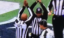 Watching These Refs Synchronize This Safety Call is Mind Blowing (VIDEO)