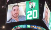 Gordon Hayward Thanks Celtics Fans For Their Support From His Hospital Bed (VIDEO)