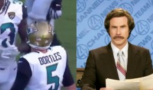 Fox NFL Announcer Makes Embarrassing Ron Burgundy-Esque Mistake On Live TV (VIDEO)