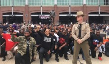 Protest For Equality In Support Of Colin Kaepernick Took Place Outside Baltimore Ravens Game (VIDEO)
